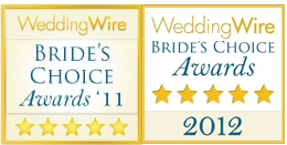 weddingwire.com badges